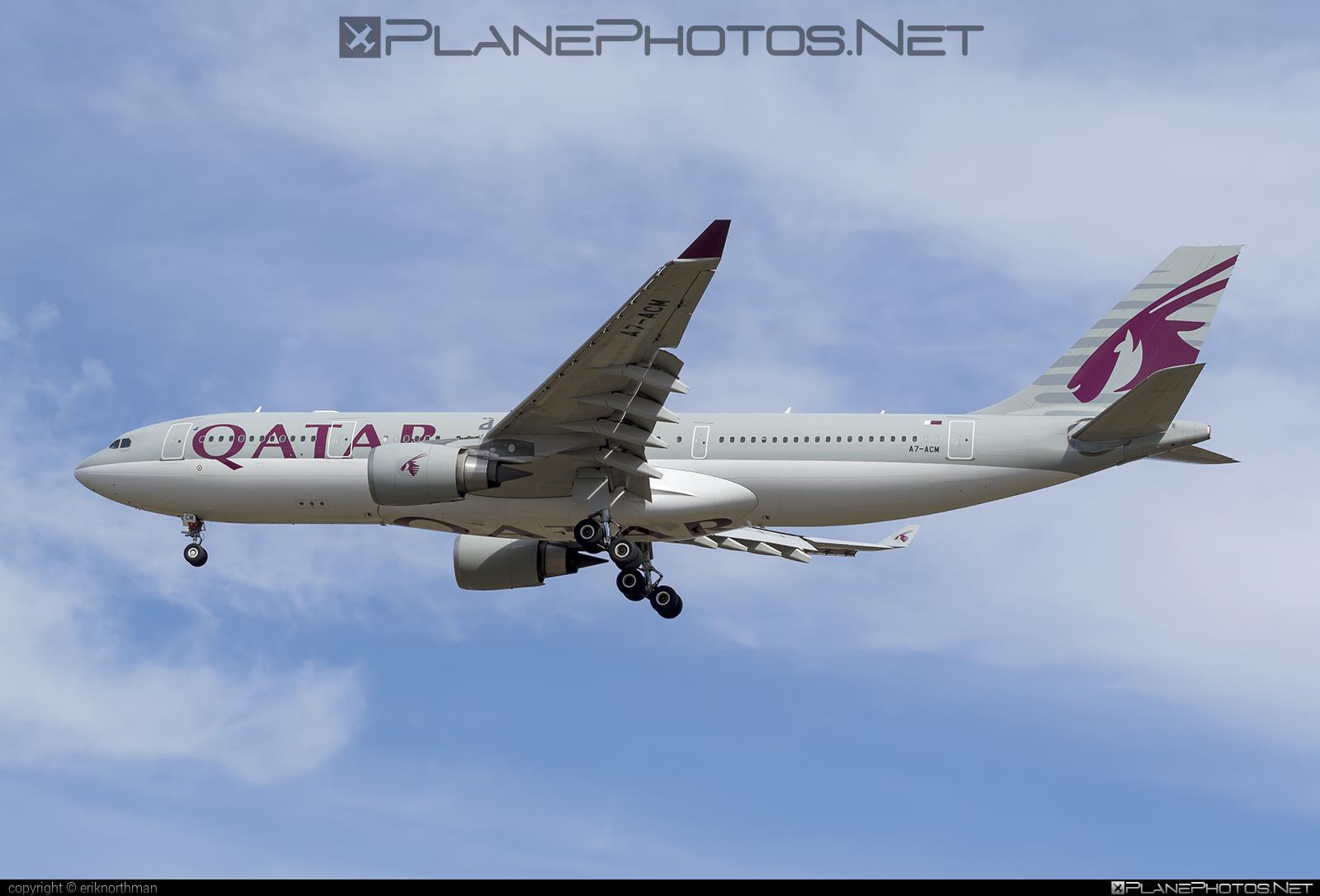 Airbus A330-202 - A7-ACM operated by Qatar Airways #a330 #a330family #airbus #airbus330 #qatarairways