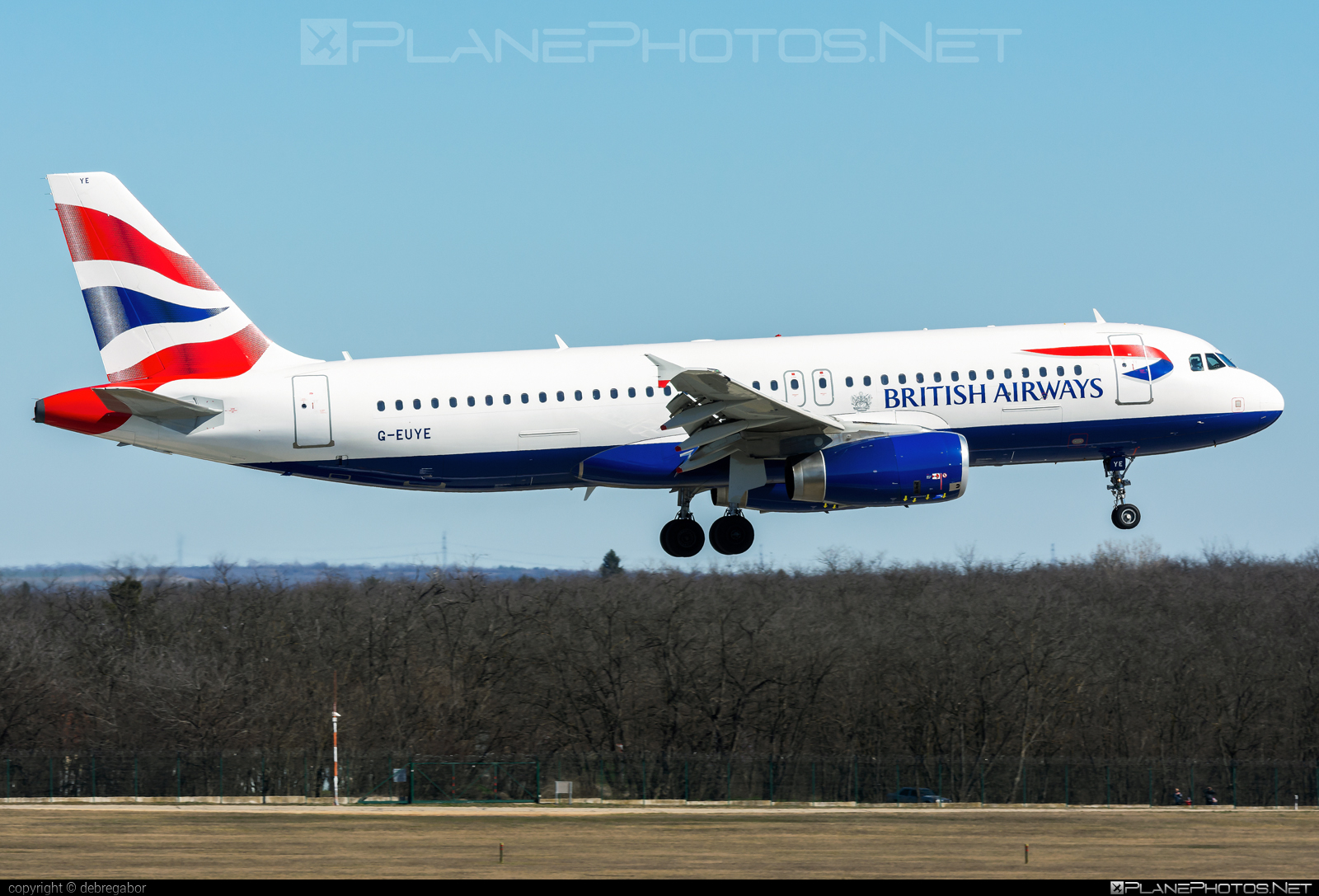 Airbus A320-232 - G-EUYE operated by British Airways #a320 #a320family #airbus #airbus320 #britishairways