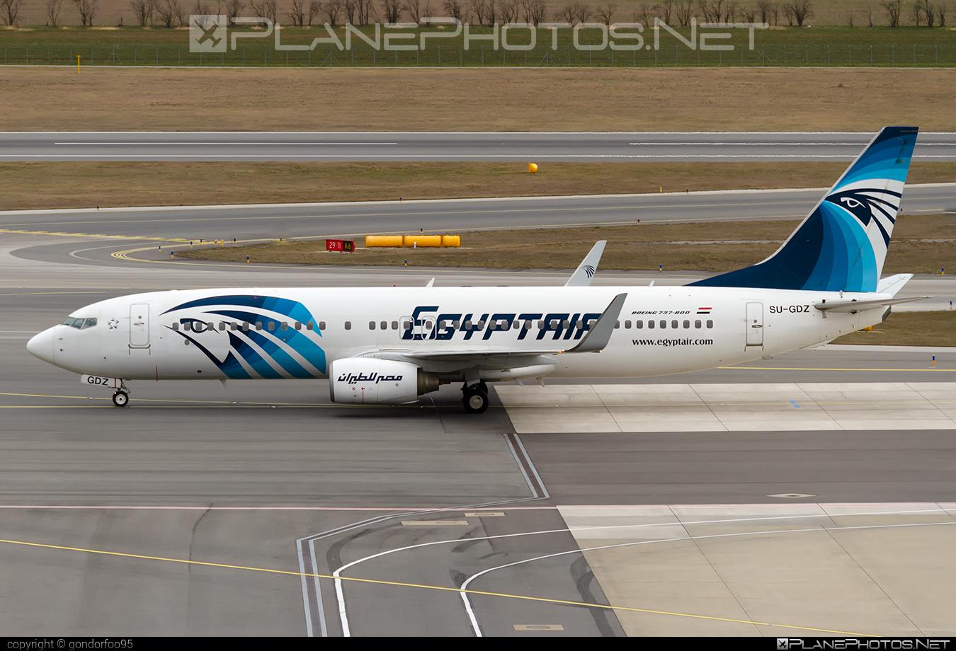 Boeing 737-800 - SU-GDZ operated by EgyptAir #b737 #b737nextgen #b737ng #boeing #boeing737