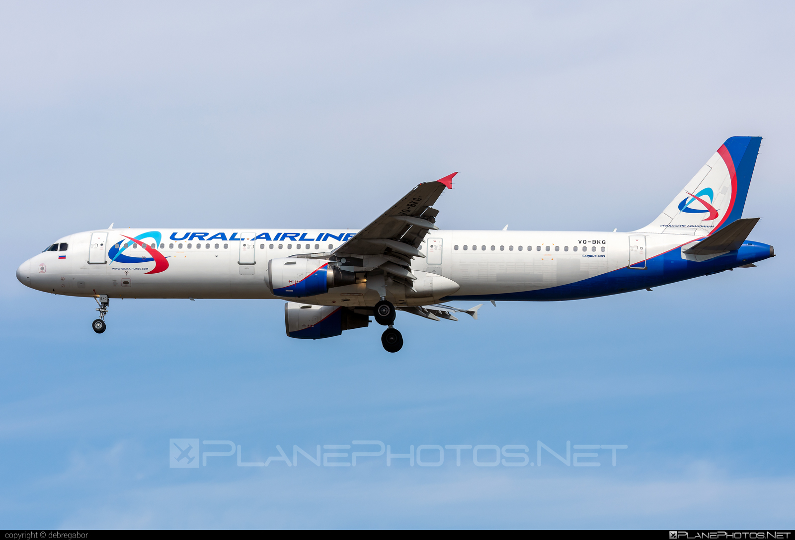 Airbus A321-211 - VQ-BKG operated by Ural Airlines #a320family #a321 #airbus #airbus321