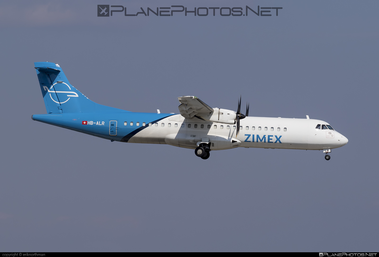 ATR 72-212A - HB-ALR operated by Zimex Aviation #atr