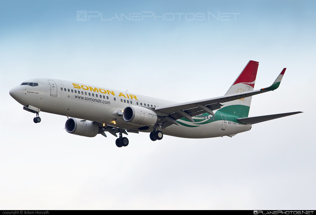 Boeing 737-800 - EY-777 operated by Somon Air #b737 #b737nextgen #b737ng #boeing #boeing737