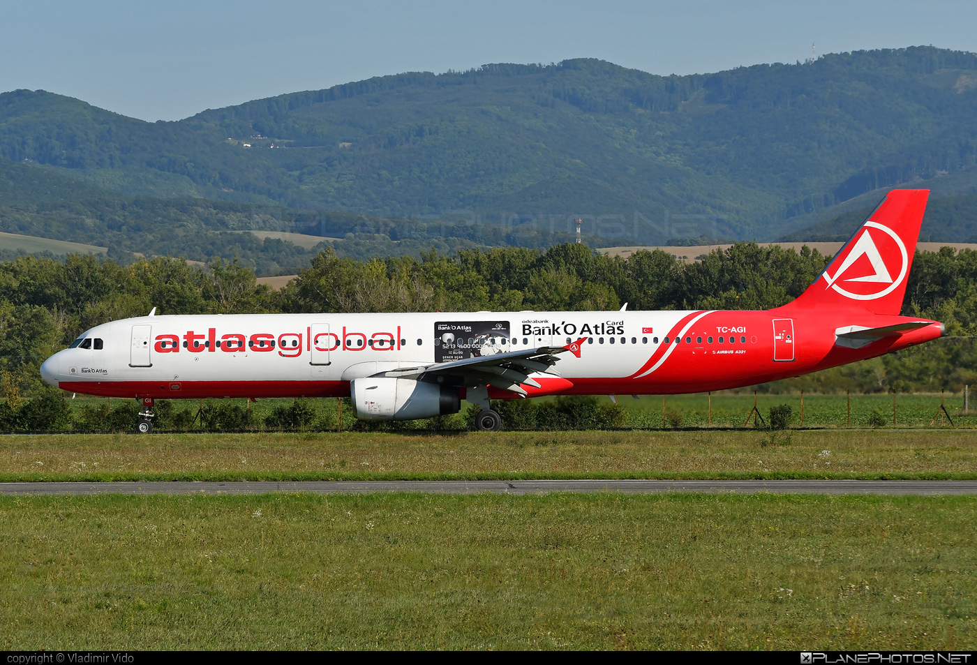 Airbus A321-131 - TC-AGI operated by Atlasglobal #a320family #a321 #airbus #airbus321
