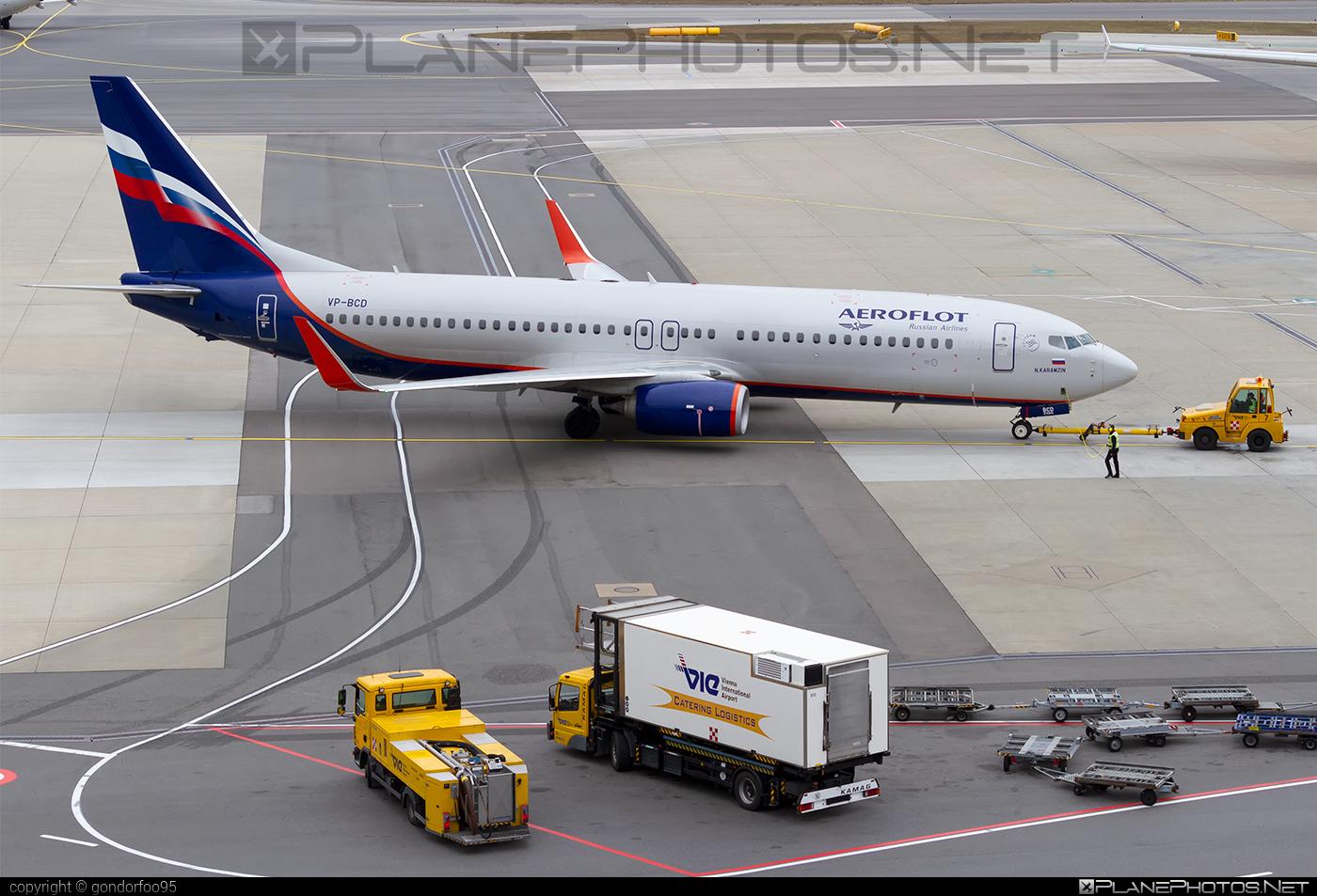 Boeing 737-800 - VP-BCD operated by Aeroflot #aeroflot #b737 #b737nextgen #b737ng #boeing #boeing737