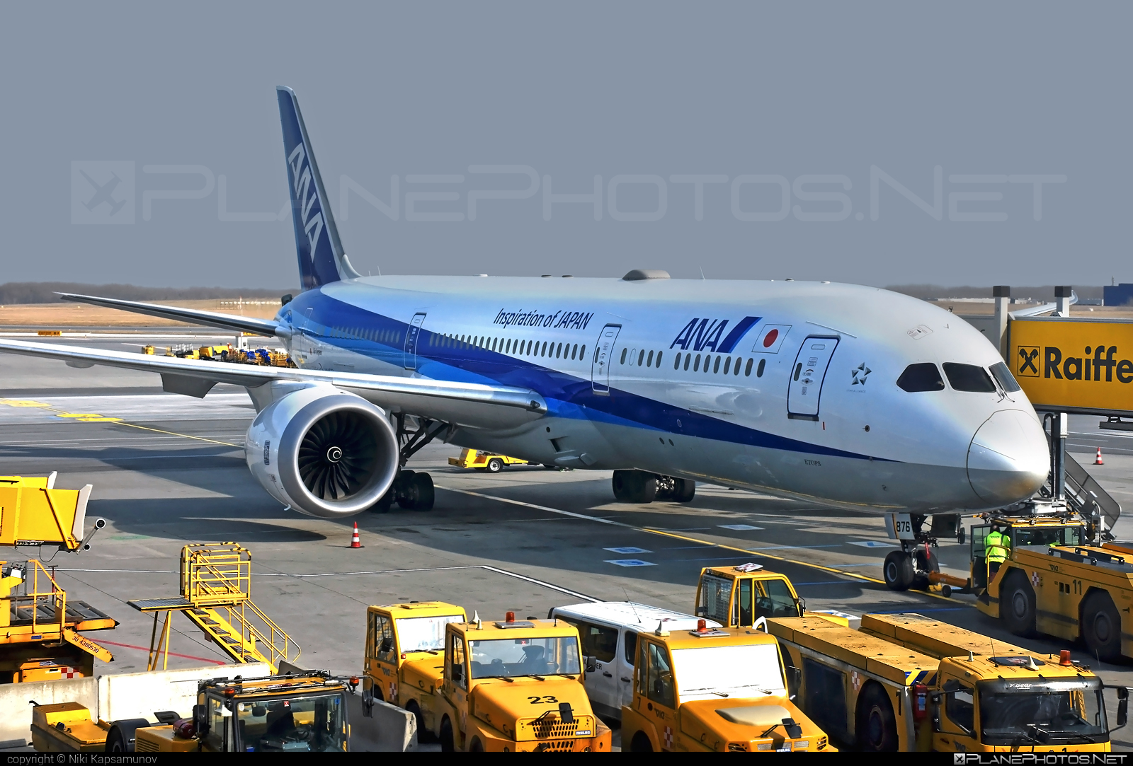 Boeing 787-9 Dreamliner - JA876A operated by All Nippon Airways (ANA) #b787 #boeing #boeing787 #dreamliner