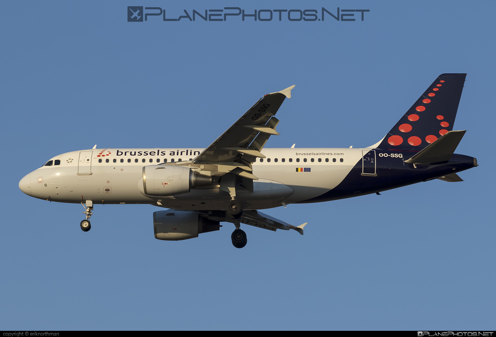Airbus A319-112 - OO-SSG operated by Brussels Airlines #a319 #a320family #airbus #airbus319 #brusselsairlines