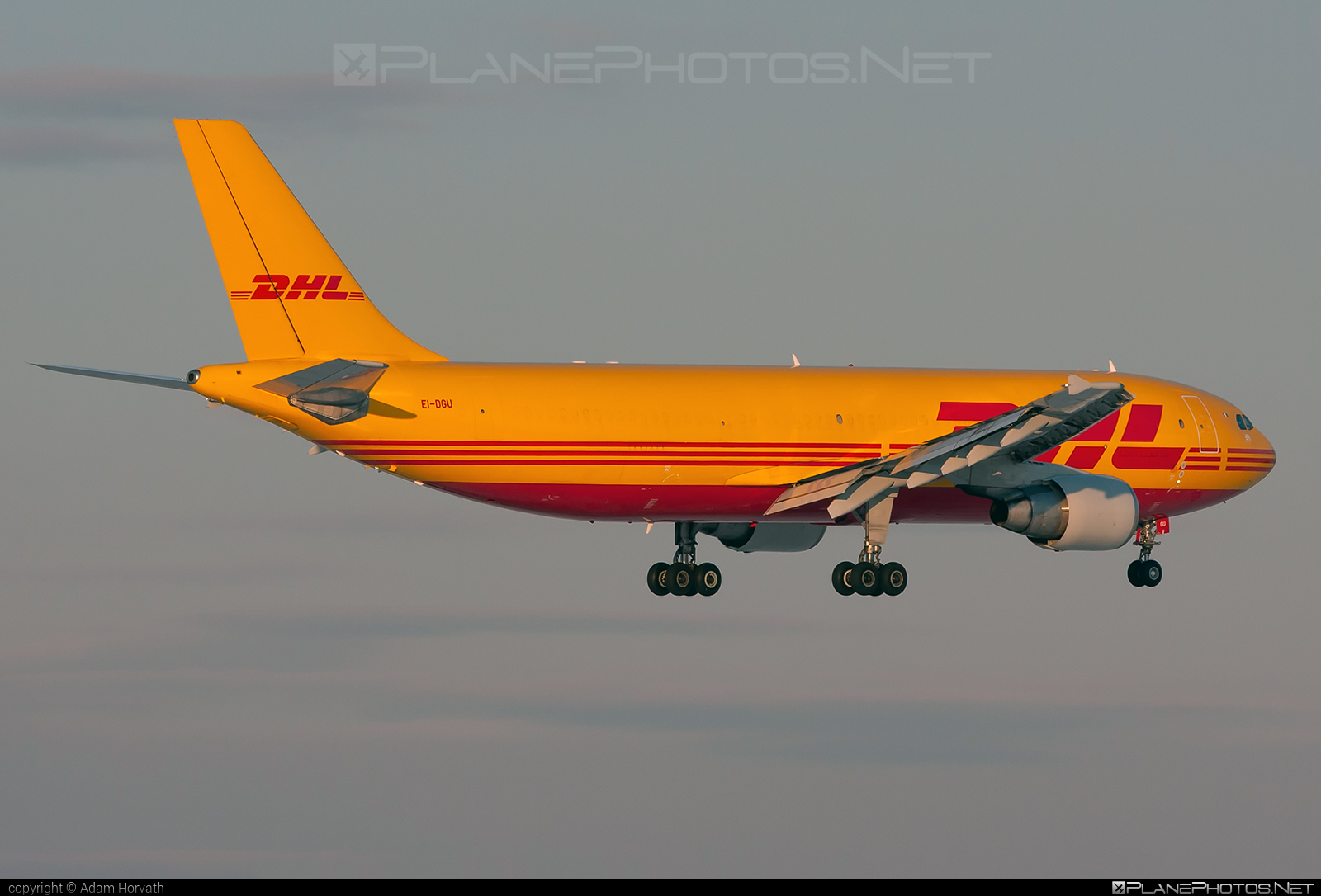 Airbus A300B4-622RF - EI-DGU operated by ASL Airlines Ireland #a300 #airbus #aslairlines #aslairlinesireland #dhl