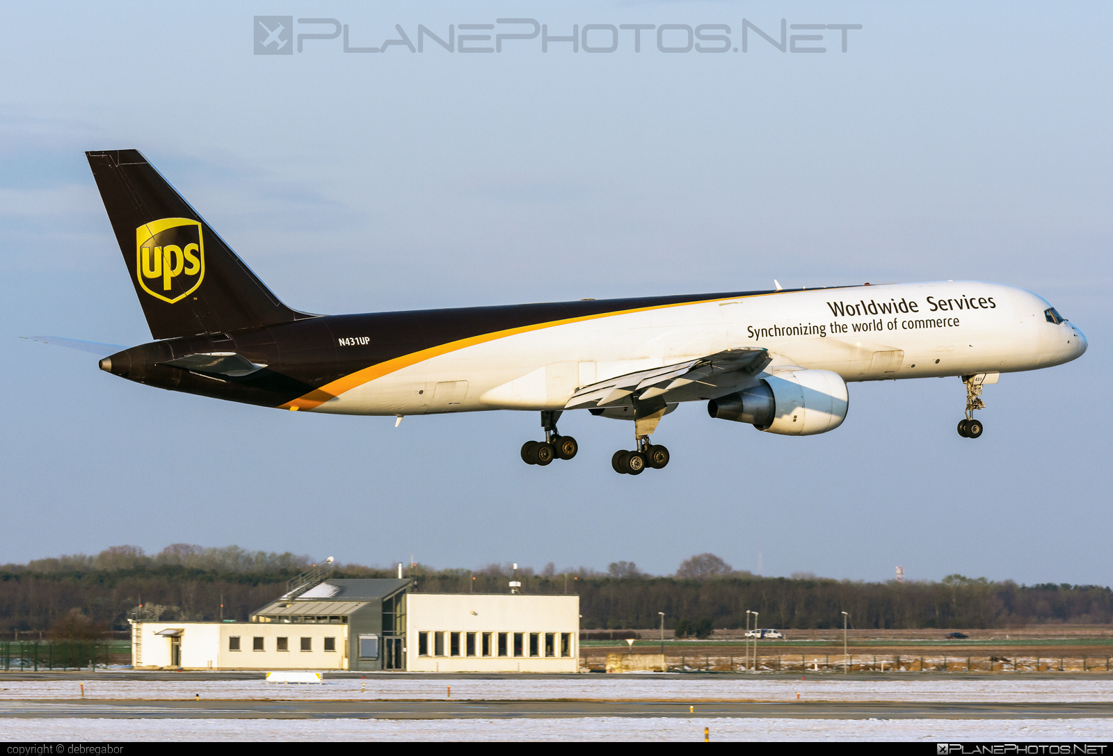 Boeing 757-200PF - N431UP operated by United Parcel Service (UPS) #b757 #boeing #boeing757 #ups #upsairlines