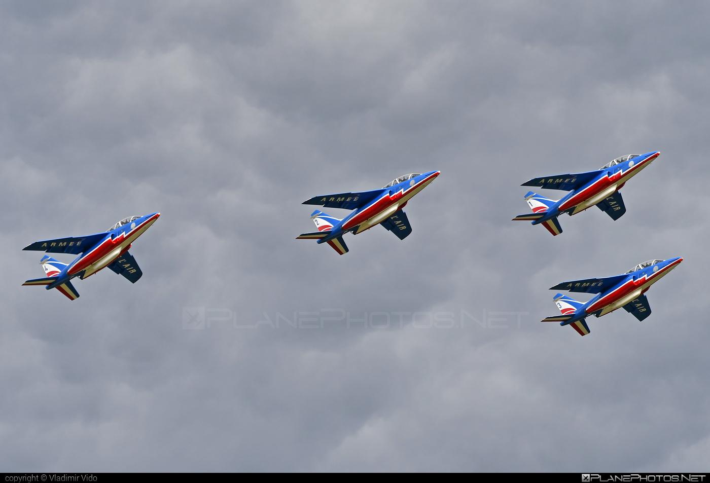Dassault-Dornier Alpha Jet E - E113 operated by Armée de l´Air (French Air Force) #alphajet #alphajete #armeedelair #dassaultdornier #frenchairforce