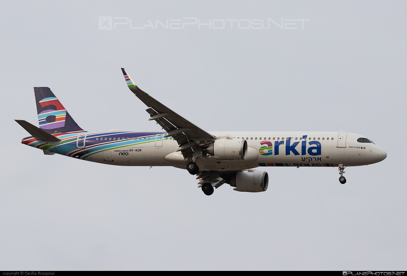 Airbus A321-251NX - 4X-AGN operated by Arkia Israeli Airlines #a320family #a321 #a321neo #airbus #airbus321 #airbus321lr