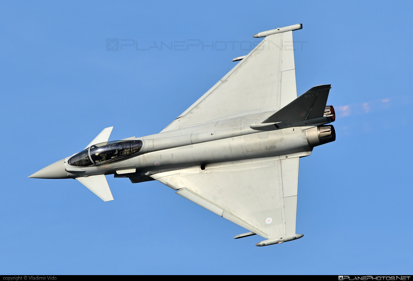 Eurofighter Typhoon FGR.4 - ZJ931 operated by Royal Air Force (RAF) #eurofighter #raf #royalairforce #typhoon