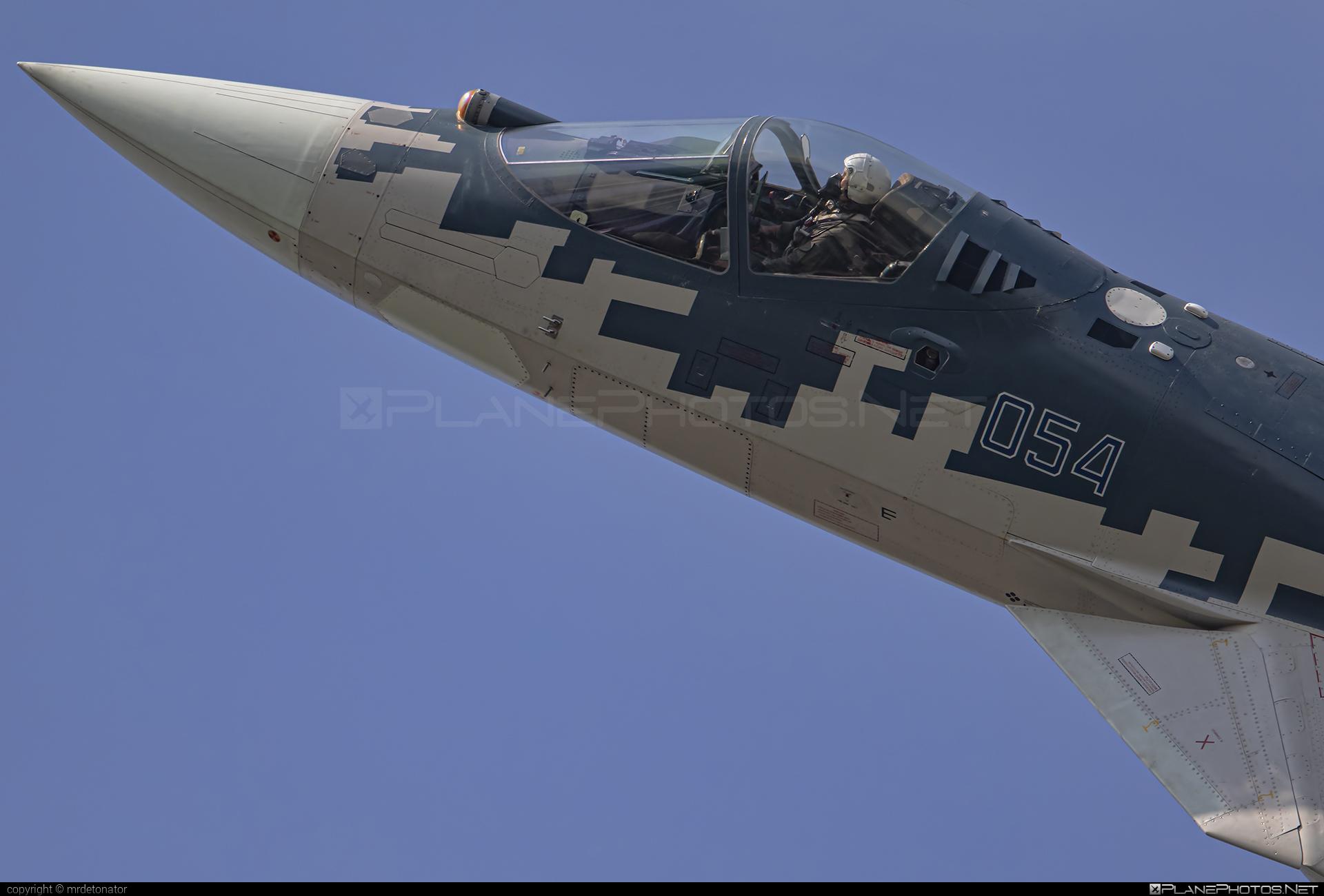 Sukhoi T-50 - 054 operated by Sukhoi Design Bureau #maks2019 #su57 #sukhoi #sukhoi57 #sukhoit50 #t50