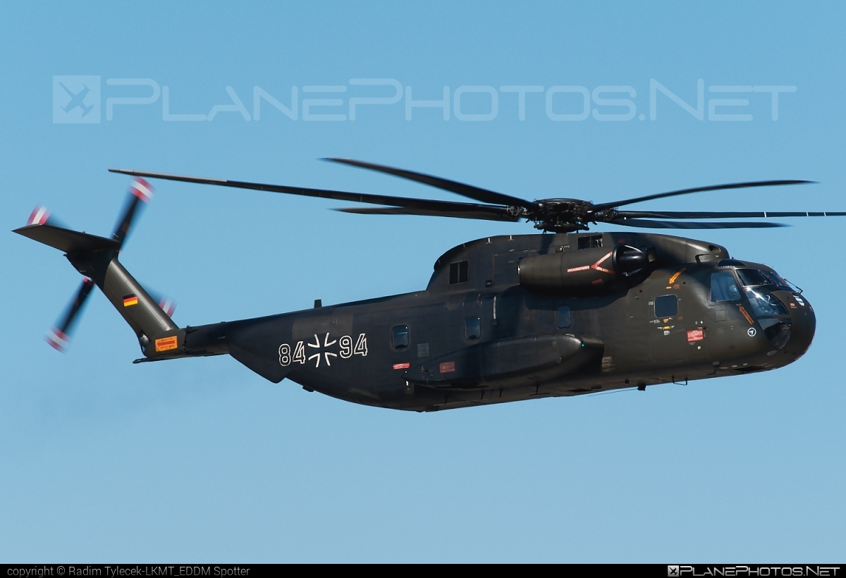 VFW-Fokker CH-53G - 84+94 operated by Luftwaffe (German Air Force) #ch53 #ch53g