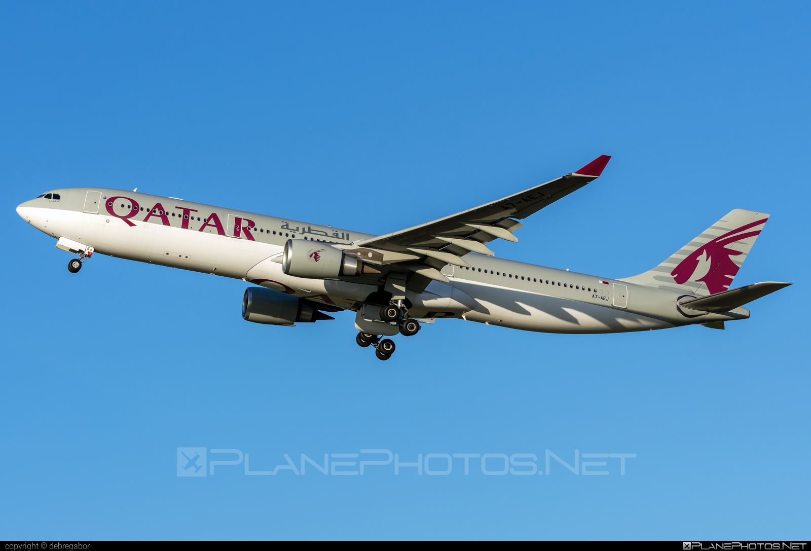 Airbus A330-302 - A7-AEJ operated by Qatar Airways #a330 #a330family #airbus #airbus330 #qatarairways