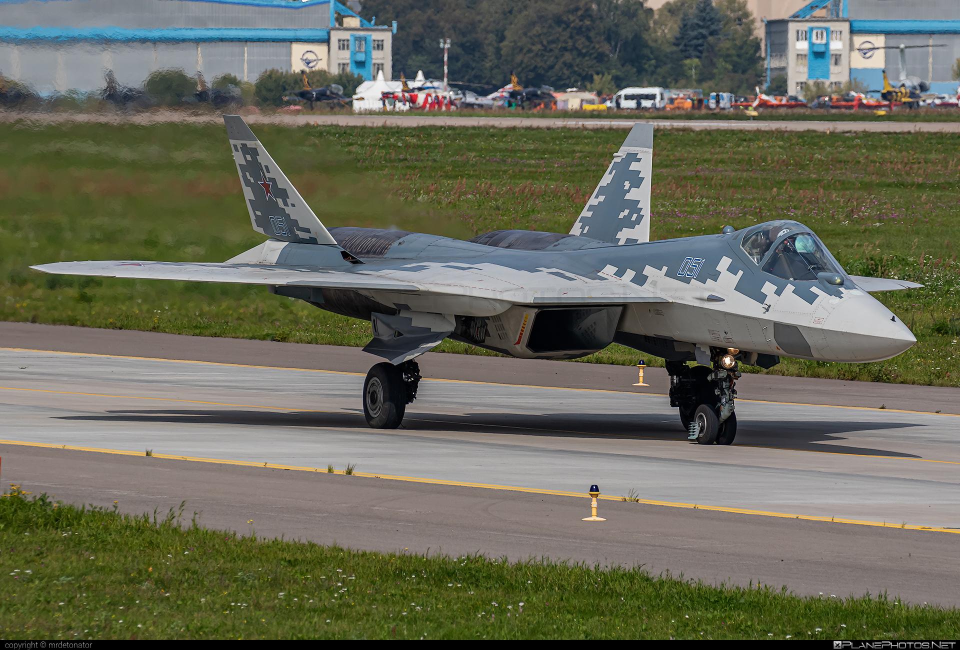 Sukhoi T-50 - 051 operated by Sukhoi Design Bureau #maks2019 #su57 #sukhoi #sukhoi57 #sukhoit50 #t50