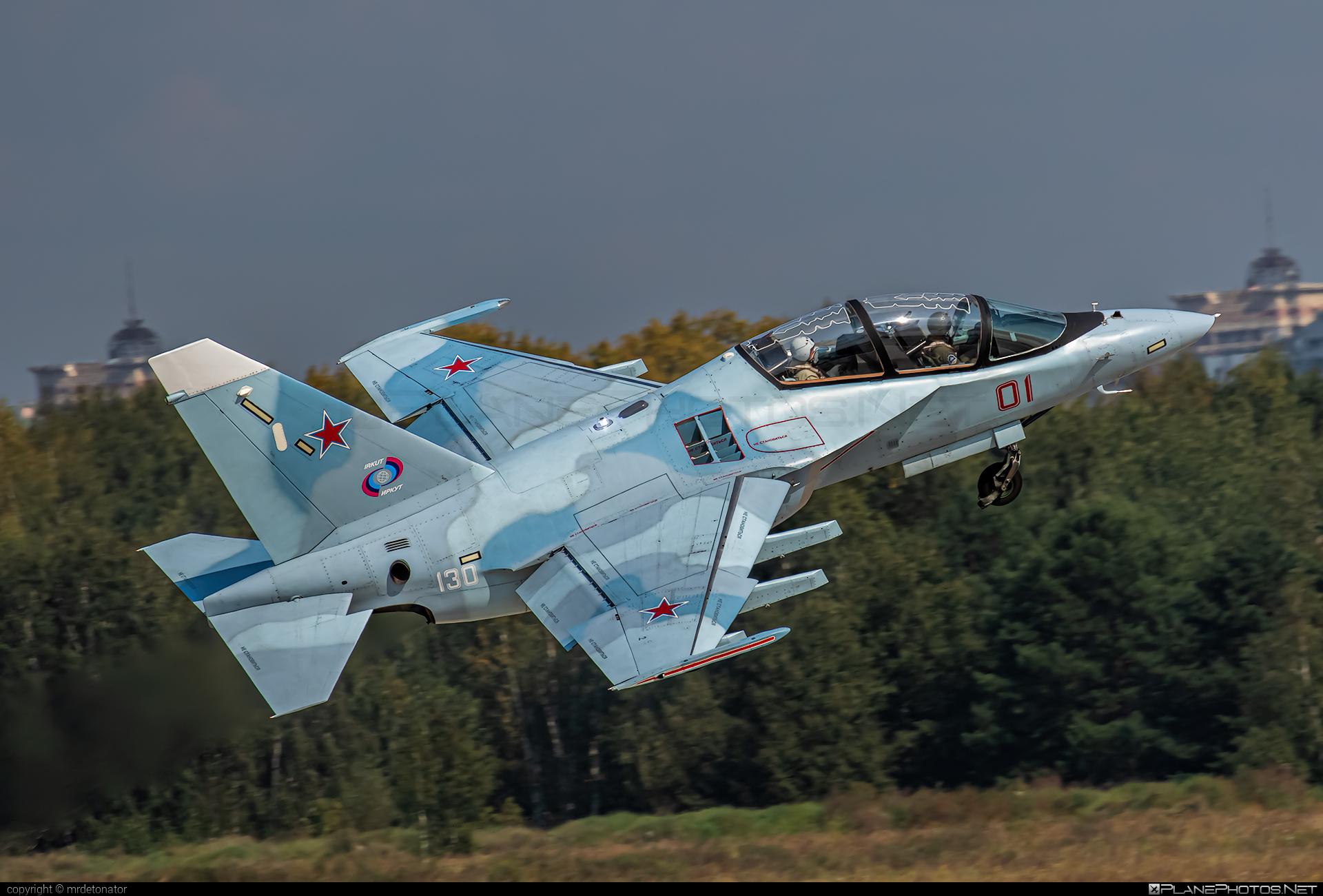 Yakovlev Yak-130 - 01 operated by Yakovlev Design Bureau #maks2019 #yak #yak130 #yakovlev