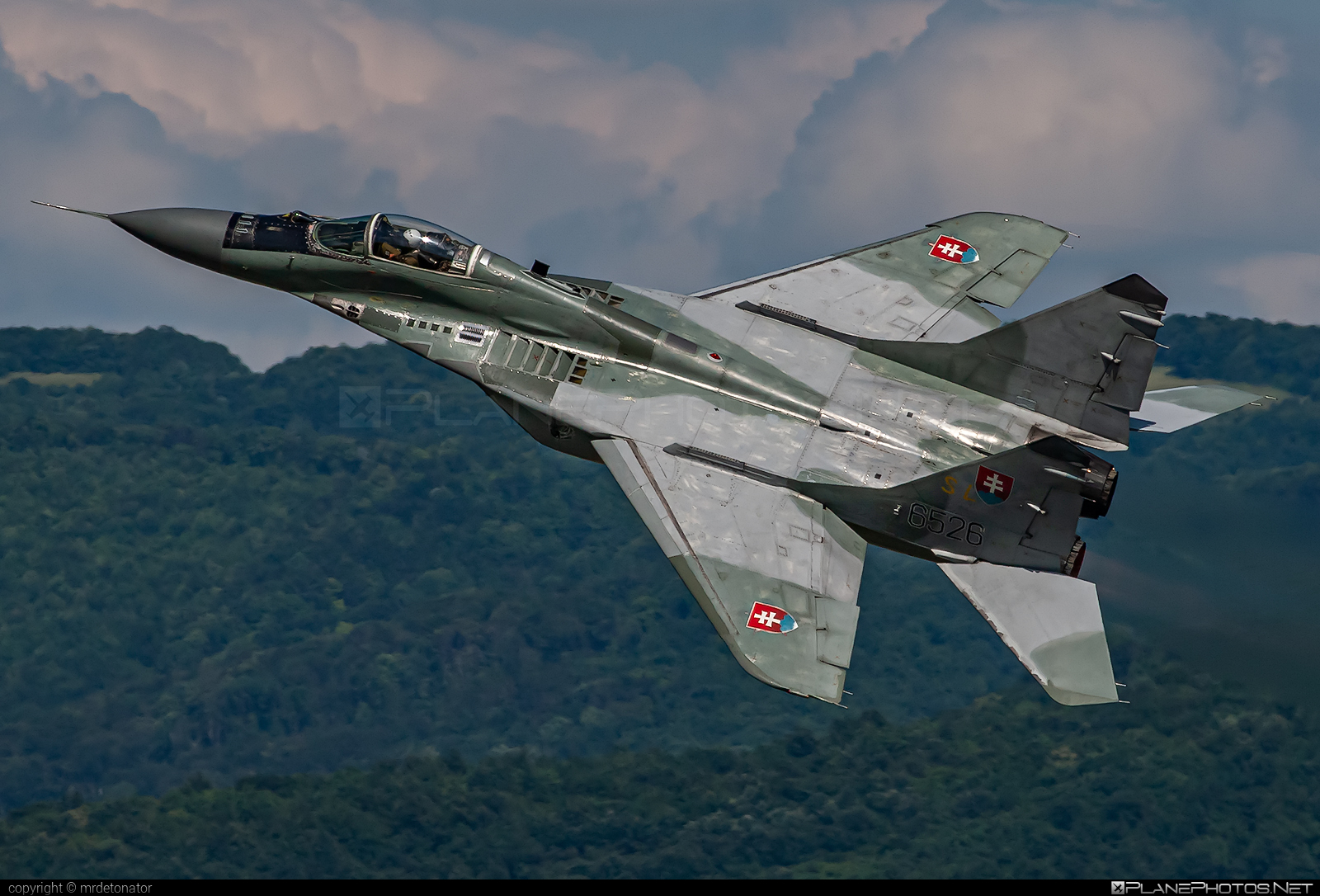 Mikoyan-Gurevich MiG-29AS - 6526 operated by Vzdušné sily OS SR (Slovak Air Force) #mig #mig29 #mig29as #mikoyangurevich #nld2007 #slovakairforce #vzdusnesilyossr