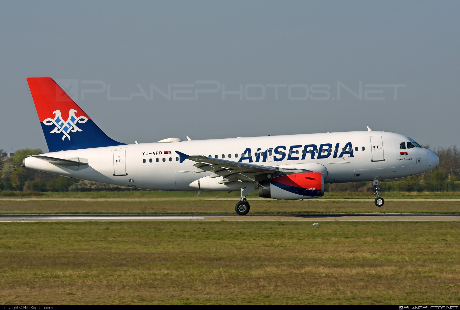 Airbus A319-132 - YU-APD operated by Air Serbia #a319 #a320family #airbus #airbus319