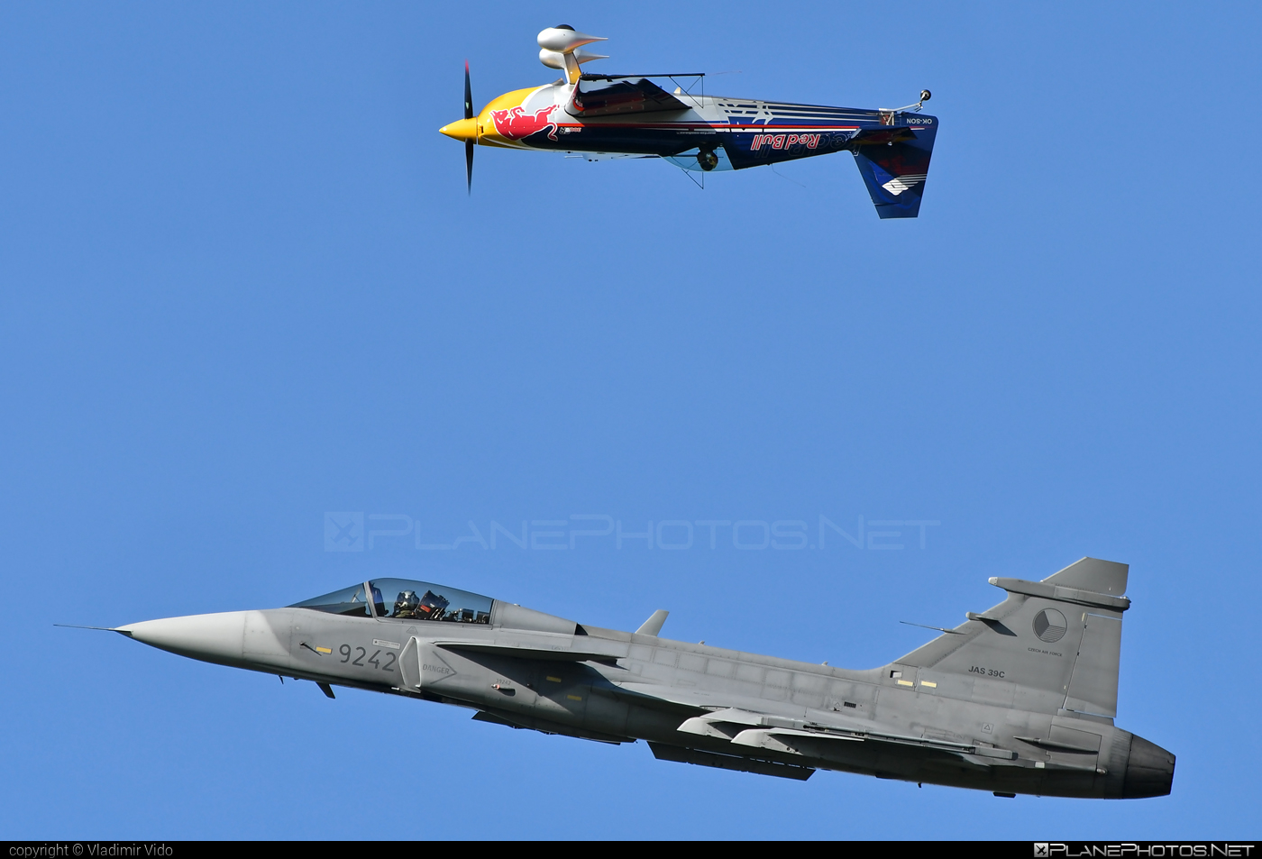 Saab JAS 39C Gripen - 9242 operated by Vzdušné síly AČR (Czech Air Force) #czechairforce #gripen #jas39 #jas39c #jas39gripen #natodays #natodays2019 #saab #vzdusnesilyacr