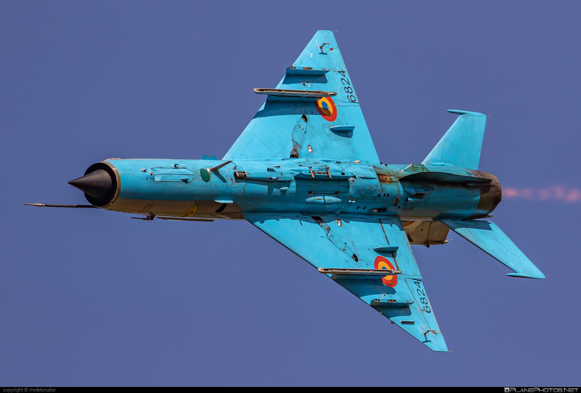 Mikoyan-Gurevich MiG-21MF - 6824 operated by Forţele Aeriene Române (Romanian Air Force) #forteleaerieneromane #mig #mig21 #mig21mf #mikoyangurevich #natodays2019 #romanianairforce