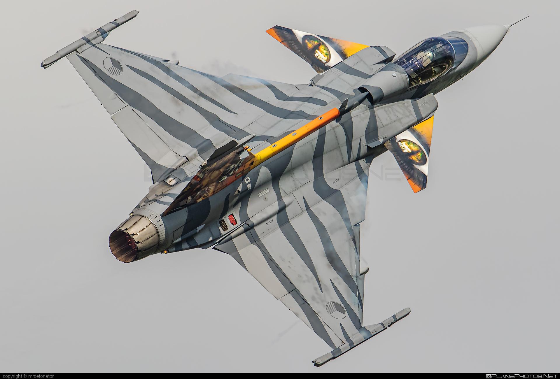Saab JAS 39C Gripen - 9241 operated by Vzdušné síly AČR (Czech Air Force) #czechairforce #gripen #jas39 #jas39c #jas39gripen #natodays2018 #saab #vzdusnesilyacr