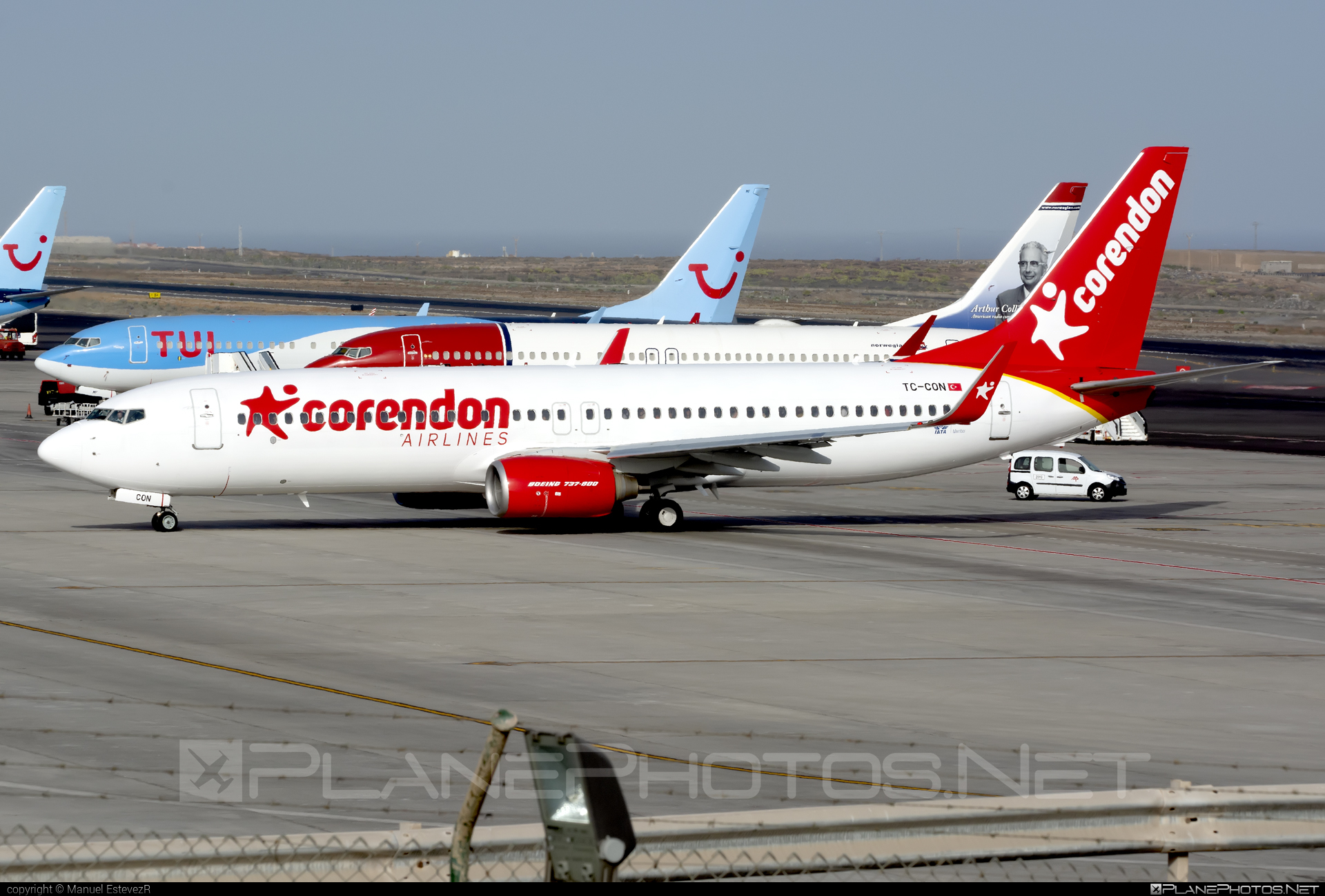 Boeing 737-800 - TC-CON operated by Corendon Airlines #b737 #b737nextgen #b737ng #boeing #boeing737
