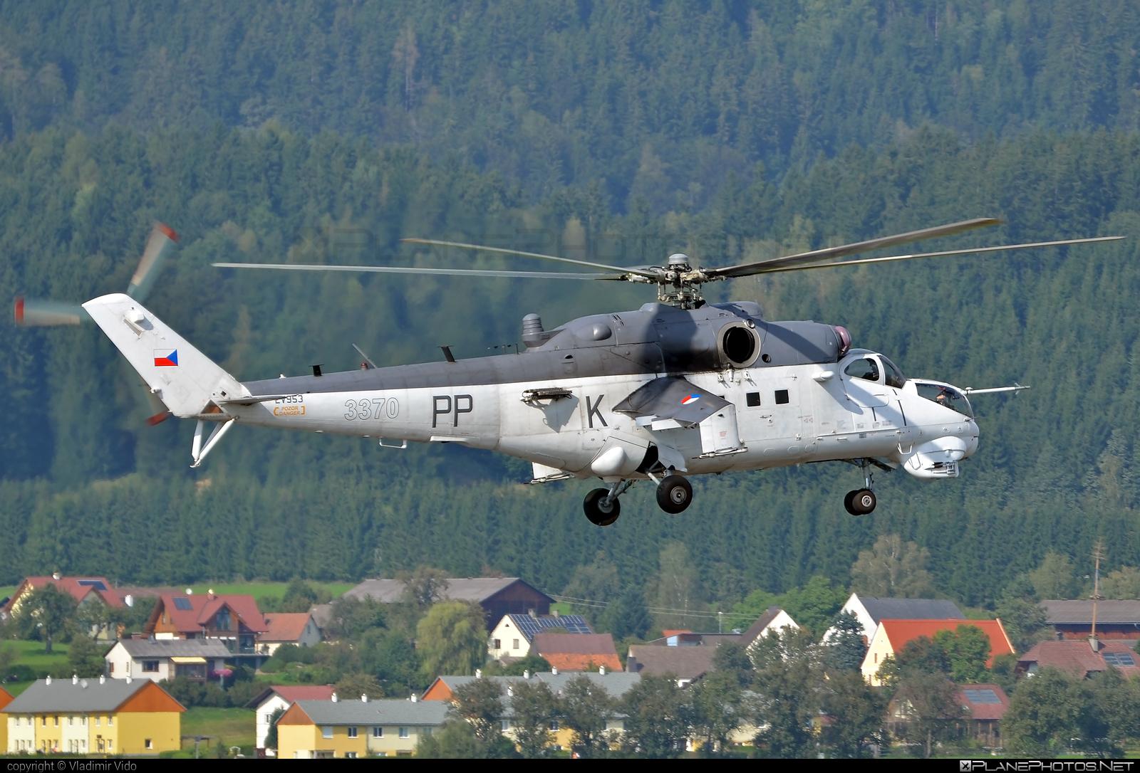 Mil Mi-35 - 3370 operated by Vzdušné síly AČR (Czech Air Force) #airpower2016 #czechairforce #mi35 #mil #milhelicopters #vzdusnesilyacr