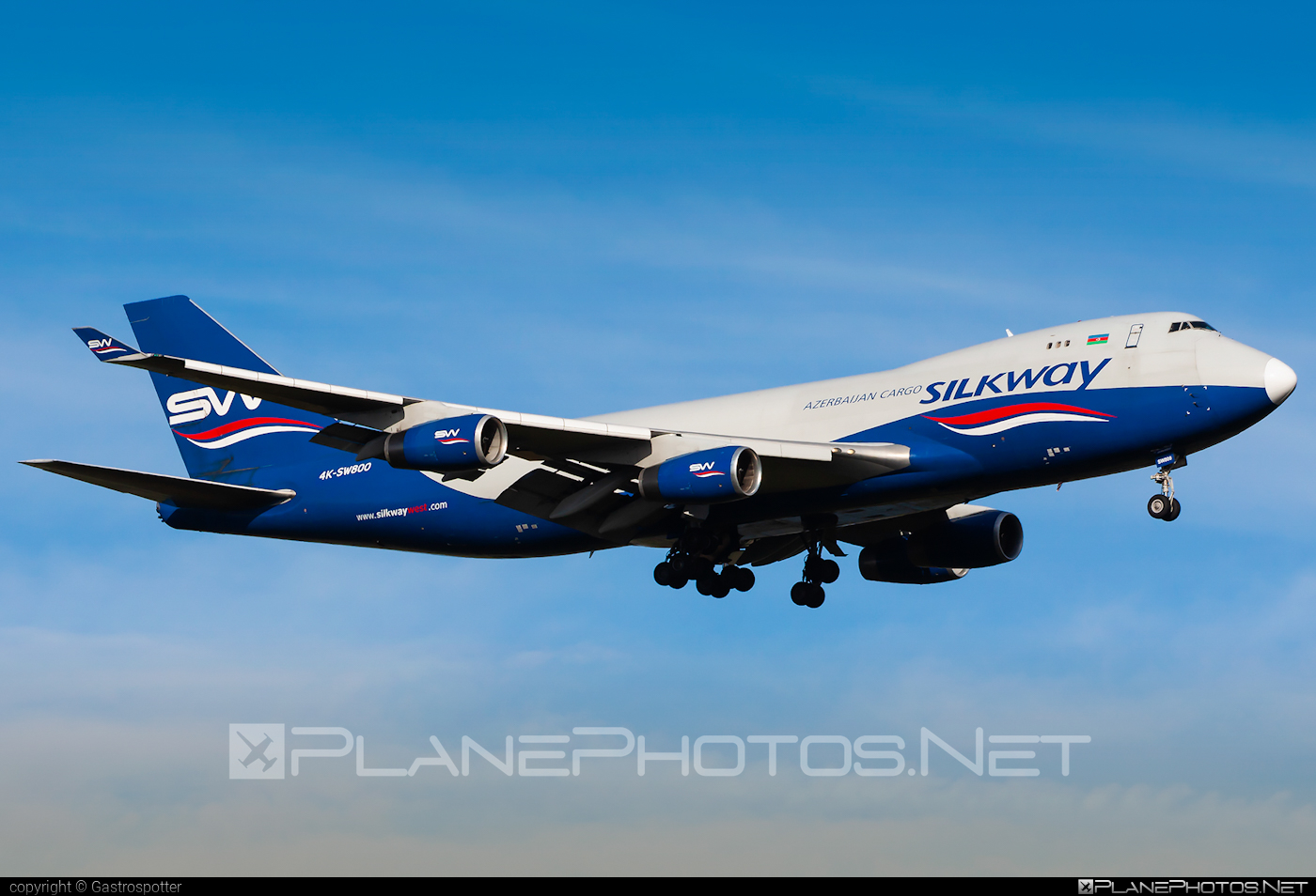 Boeing 747-400F - 4K-SW800 operated by Silk Way West Airlines #b747 #boeing #boeing747 #jumbo #silkwayairlines #silkwaywestairlines