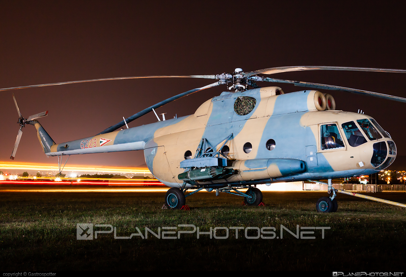 Mil Mi-8T - 6223 operated by Magyar Légierő (Hungarian Air Force) #hungarianairforce #magyarlegiero #mil #milhelicopters