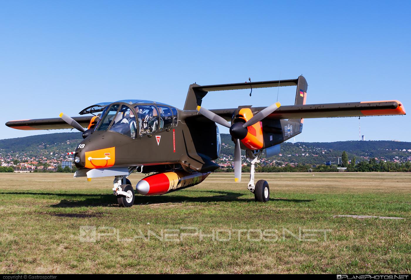 North American Rockwell OV-10B Bronco - G-ONAA operated by Private operator #northamericanrockwell