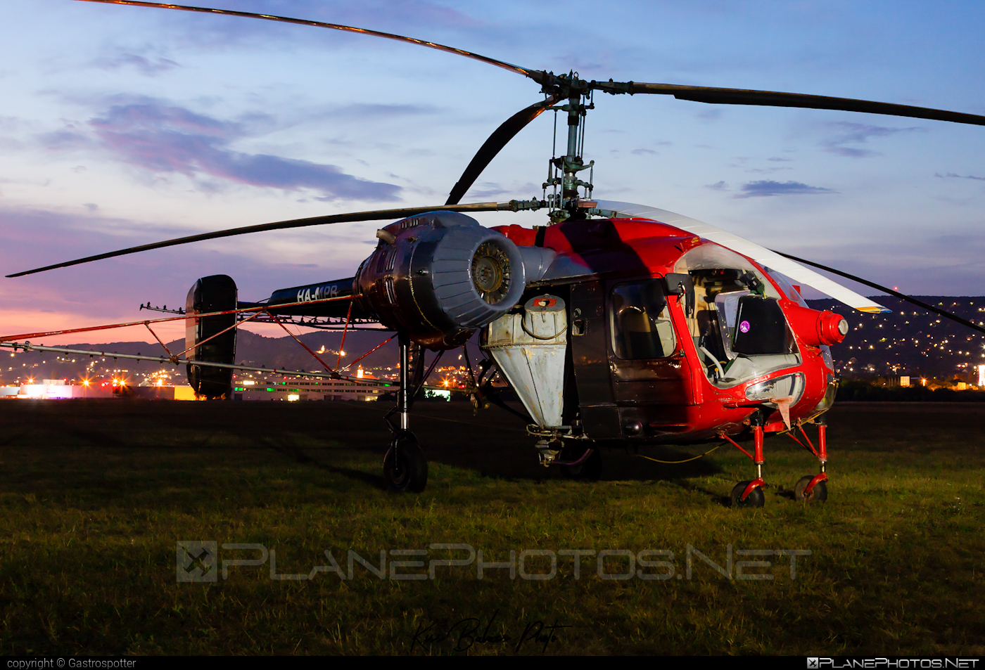 Kamov Ka-26 - HA-MPB operated by Private operator #kamov