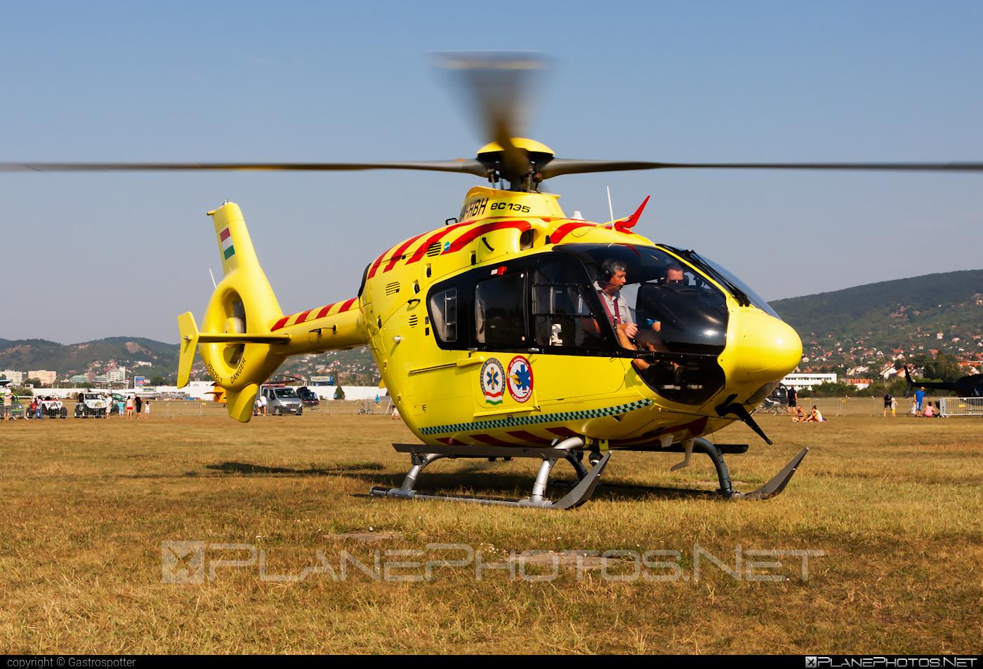 Eurocopter EC135 P2+ - HA-HBH operated by Magyar Légimentő Nonprofit (Hungarian Air Ambulance) #ec135 #ec135p2 #ec135p2plus #eurocopter #hungarianairambulance #magyarlegimentononprofit