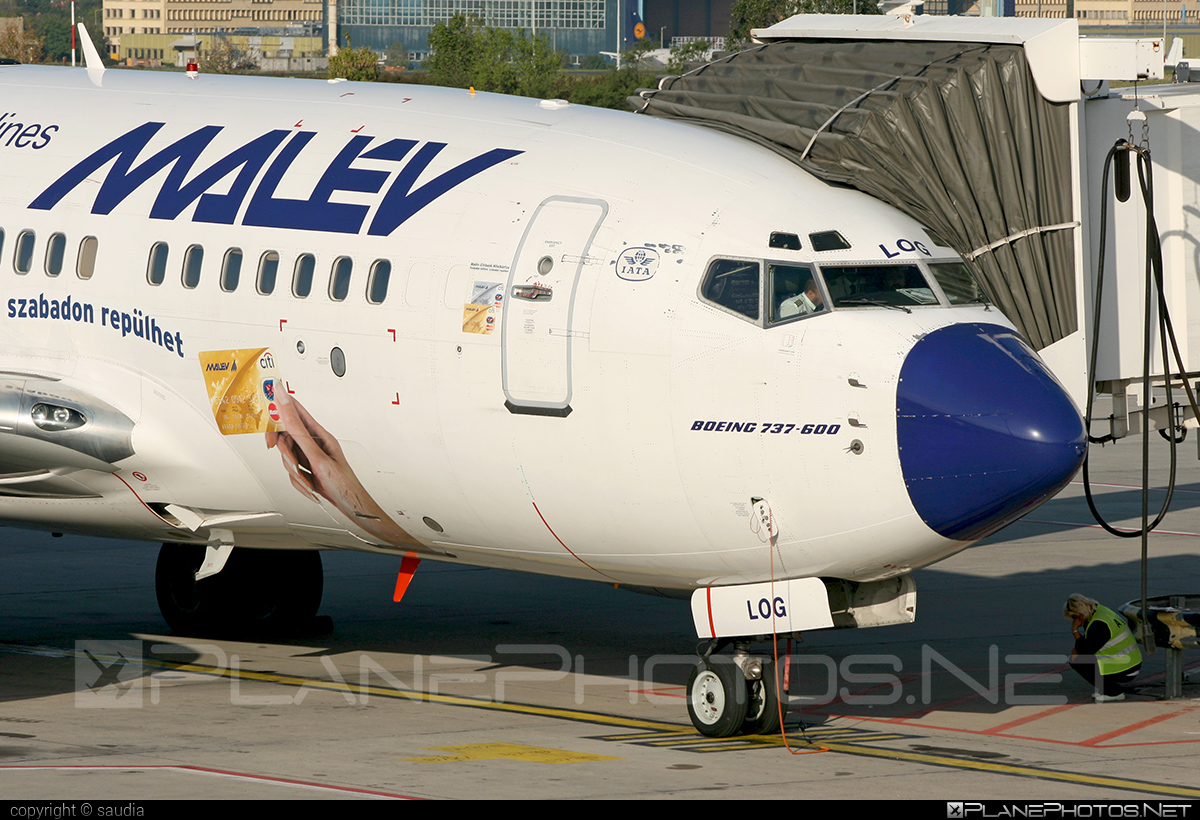 Boeing 737-600 - HA-LOG operated by Malev Hungarian Airlines #b737 #b737nextgen #b737ng #boeing #boeing737