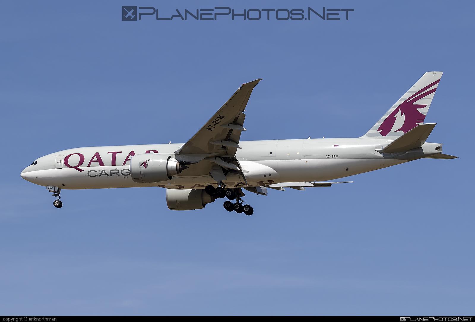 Boeing 777F - A7-BFM operated by Qatar Airways Cargo #b777 #b777f #b777freighter #boeing #boeing777 #qatarairwayscargo #tripleseven