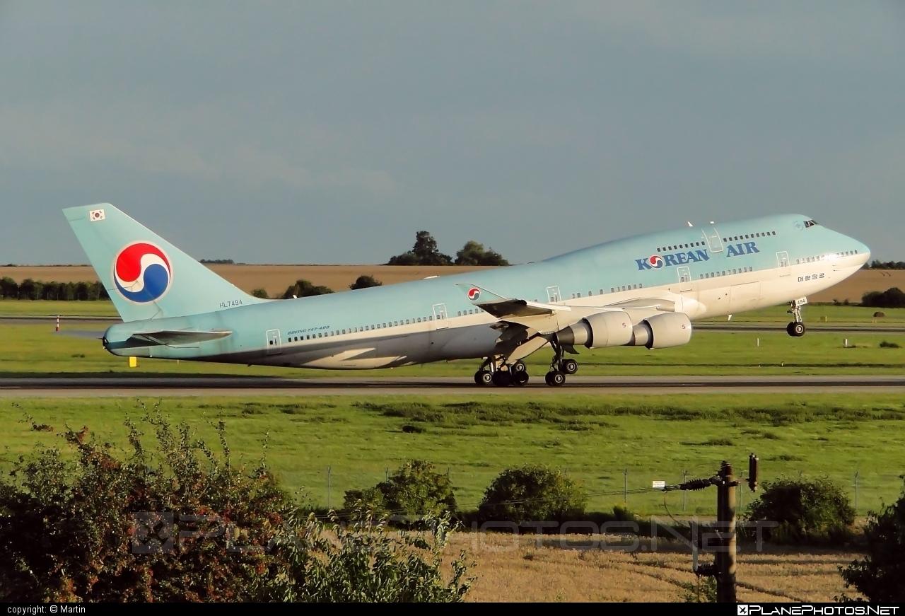 Boeing 747-400 - HL7494 operated by Korean Air #b747 #boeing #boeing747 #jumbo #koreanair
