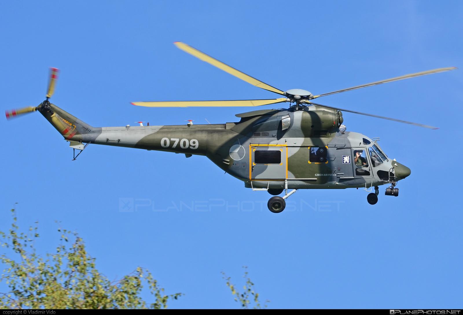 PZL-Świdnik W-3A Sokol - 0709 operated by Vzdušné síly AČR (Czech Air Force) #czechairforce #dnynato2018 #natodays2018 #pzl #pzlswidnik #vzdusnesilyacr