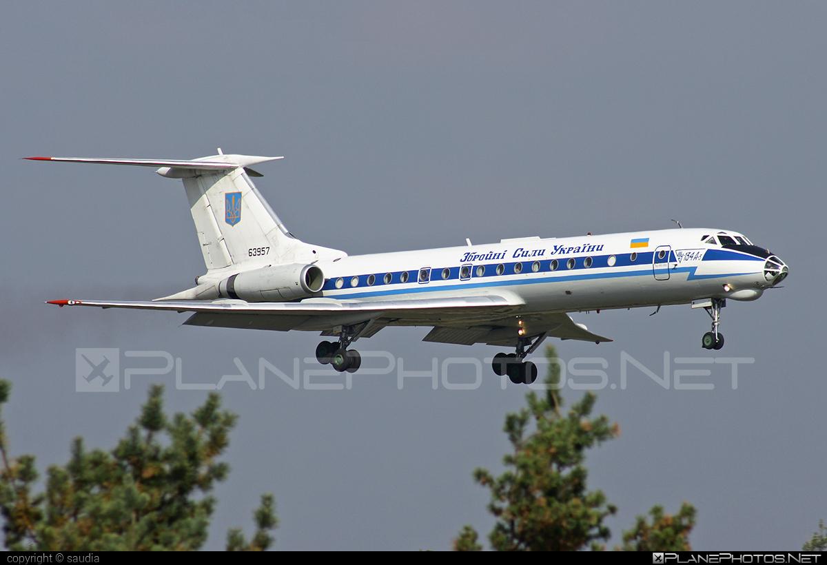 Tupolev Tu-134A - 63957 operated by Povitryani Syly Ukrayiny (Ukrainian Air Force) #povitryanisylyukrayiny #tu134 #tu134a #tupolev #tupolev134 #tupolevtu134 #tupolevtu134a #ukrainianairforce