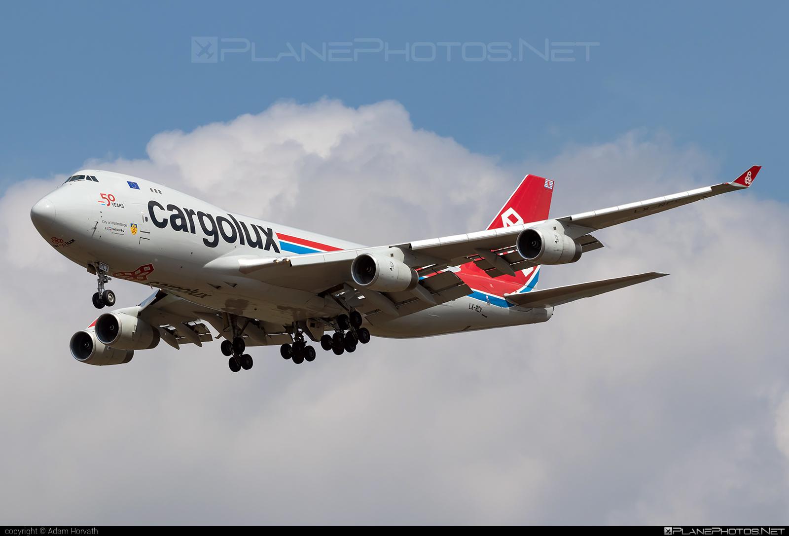 Boeing 747-400F - LX-RCV operated by Cargolux Italia #b747 #boeing #boeing747 #cargolux #cargoluxitalia #jumbo