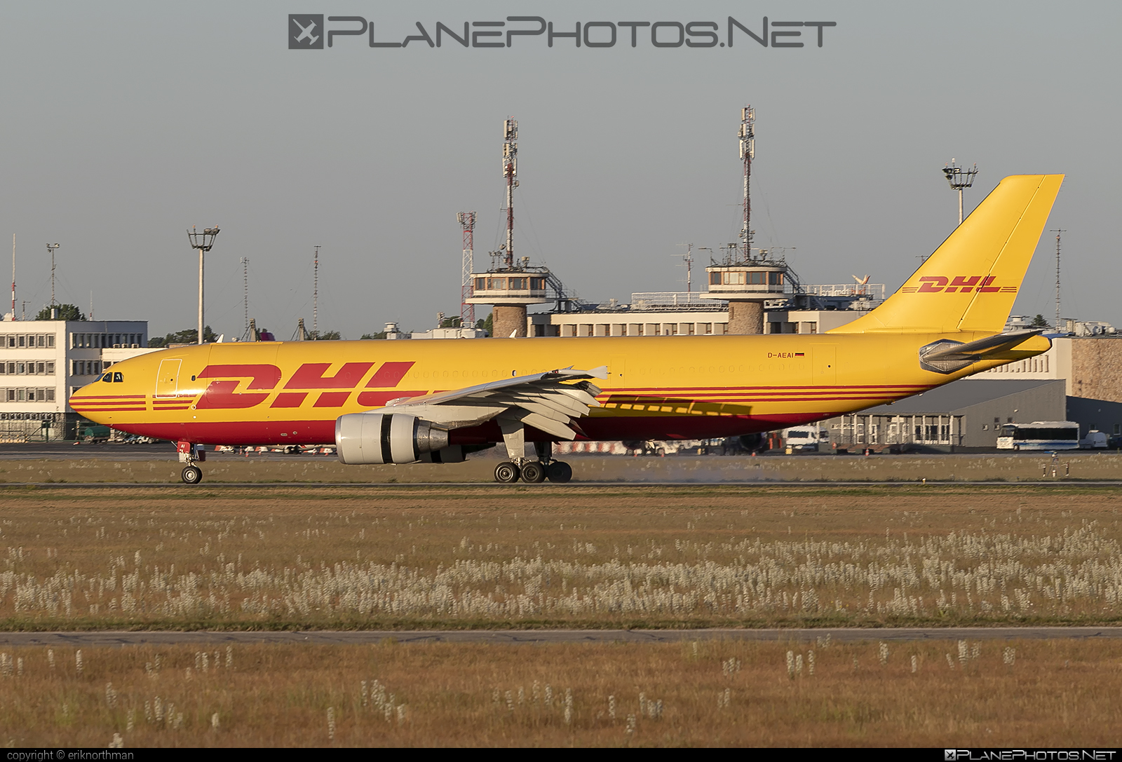 Airbus A300B4-622RF - D-AEAI operated by DHL (European Air Transport) #a300 #airbus