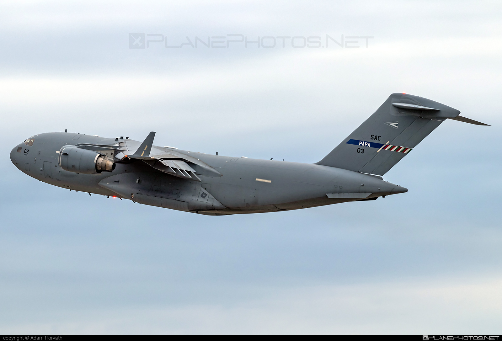Boeing C-17A Globemaster III - 03 operated by NATO Strategic Airlift Capability (SAC) #boeing #c17 #c17globemaster #globemaster #globemasteriii #natostrategicairliftcapability #strategicairliftcapability