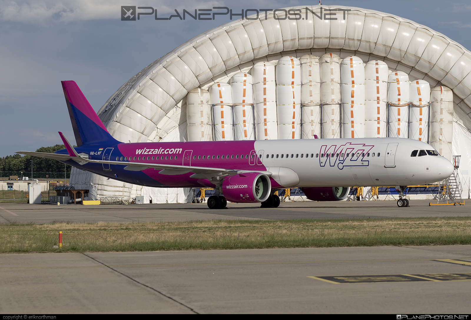 Airbus A321-271NX - HA-LVF operated by Wizz Air #a320family #a321 #a321neo #airbus #airbus321 #airbus321lr #wizz #wizzair