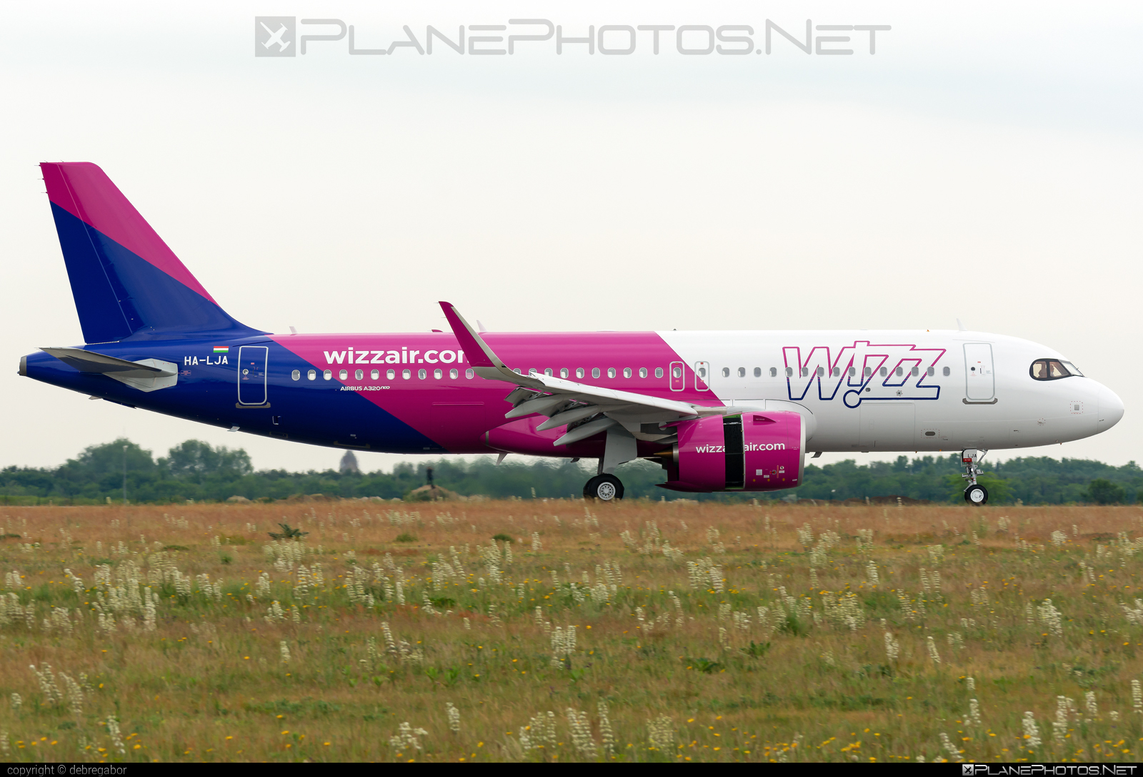 Airbus A320-271N - HA-LJA operated by Wizz Air #a320 #a320family #a320neo #airbus #airbus320 #wizz #wizzair