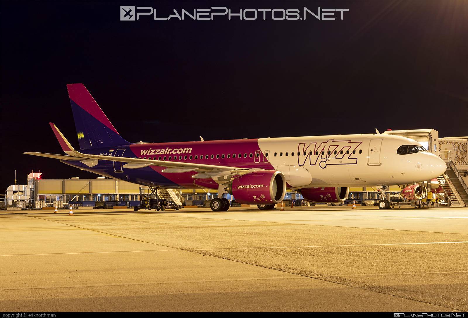 Ha Lja Airbus A320 271n Operated By Wizz Air Taken By Eriknorthman Photoid 23149 Planephotos Net