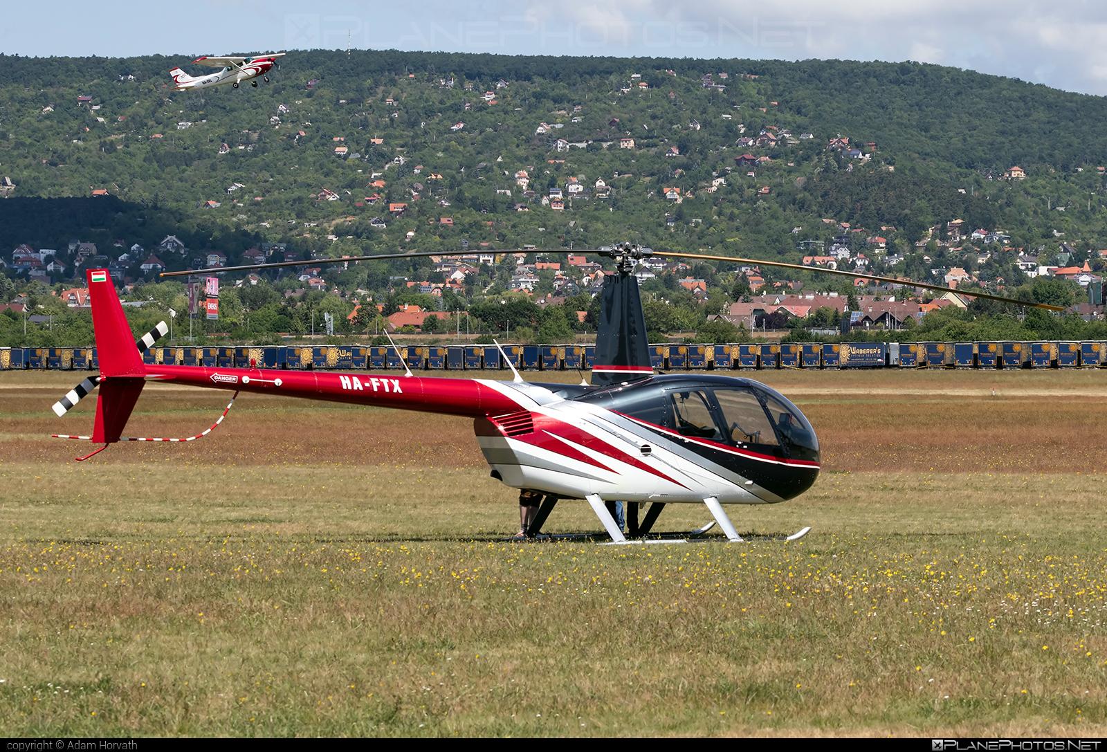 Robinson R44 Raven II - HA-FTX operated by BHS Hungary Kft. #bhshungary #robinson