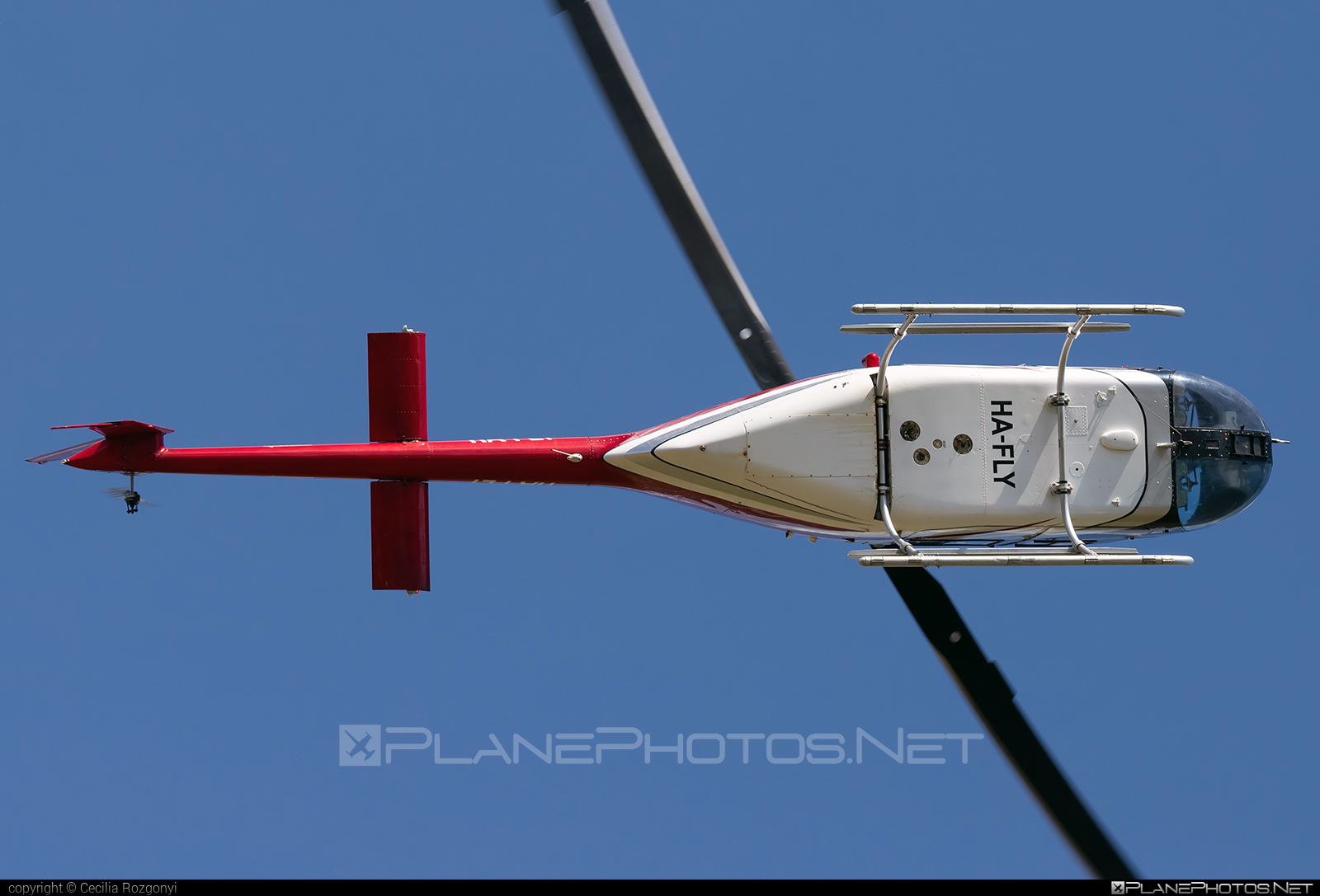 Bell 206B-3 JetRanger III - HA-FLY operated by Fly-Coop #bell #bellhelicopters
