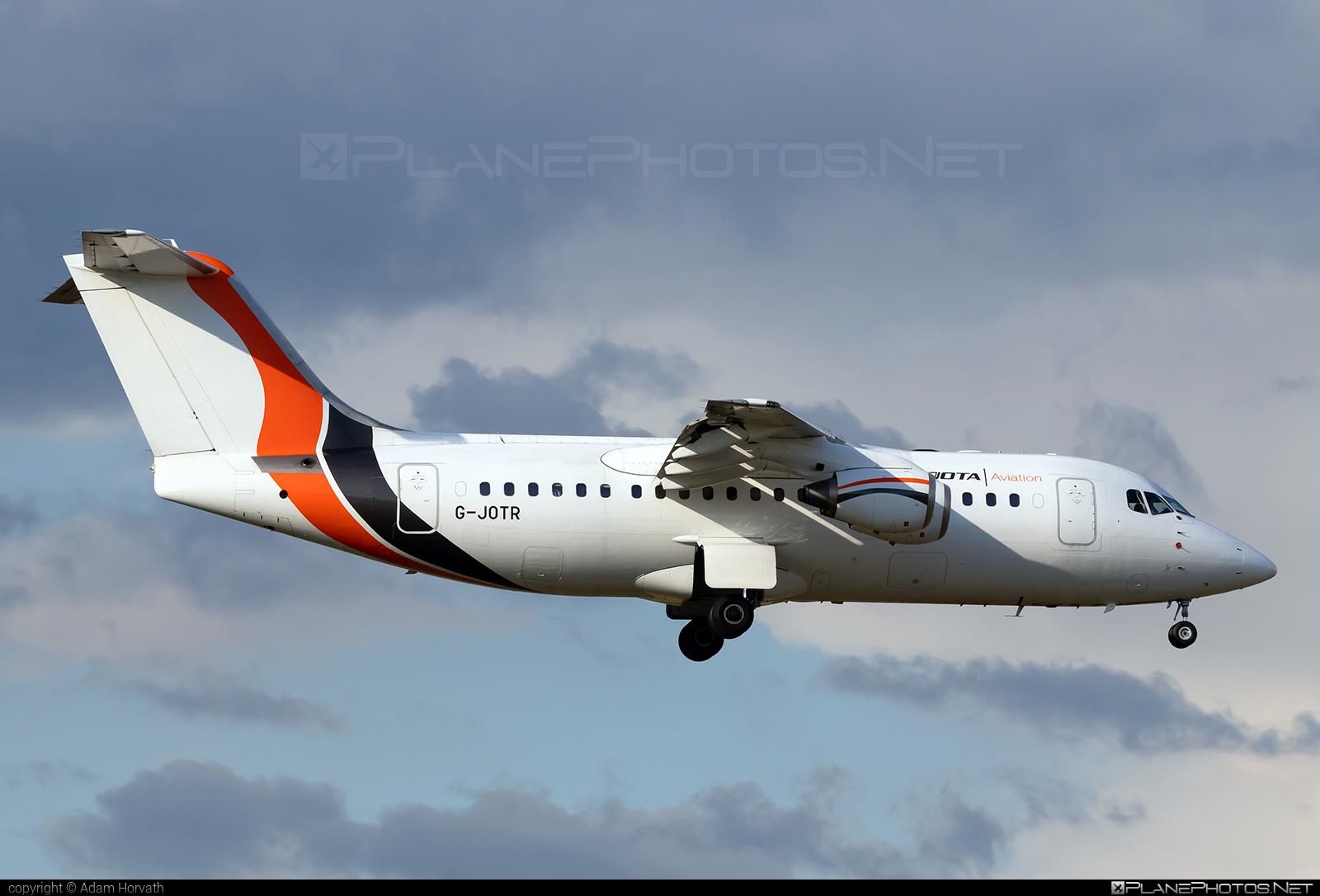British Aerospace Avro RJ85 - G-JOTR operated by Jota Aviation #avro146rj85 #avrorj85 #bae146 #britishaerospace