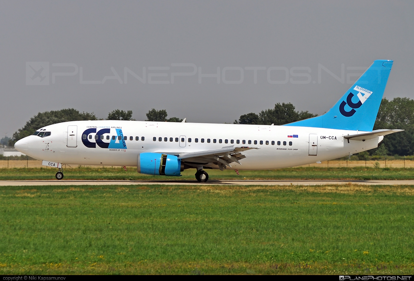 Boeing 737-300 - OM-CCA operated by Central Charter Airlines Slovakia #b737 #boeing #boeing737