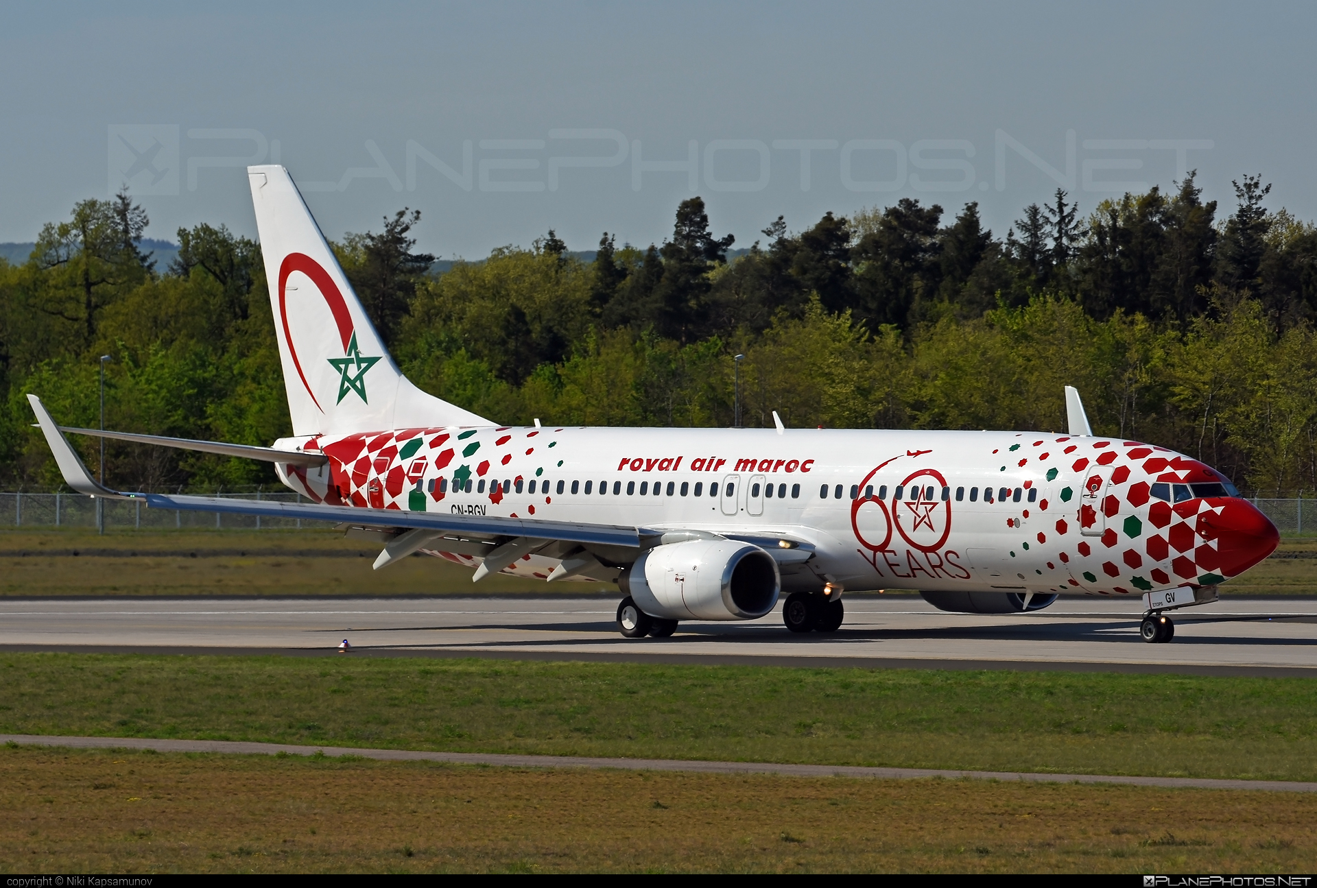 Boeing 737-800 - CN-RGV operated by Royal Air Maroc (RAM) #b737 #b737nextgen #b737ng #boeing #boeing737 #royalairmaroc