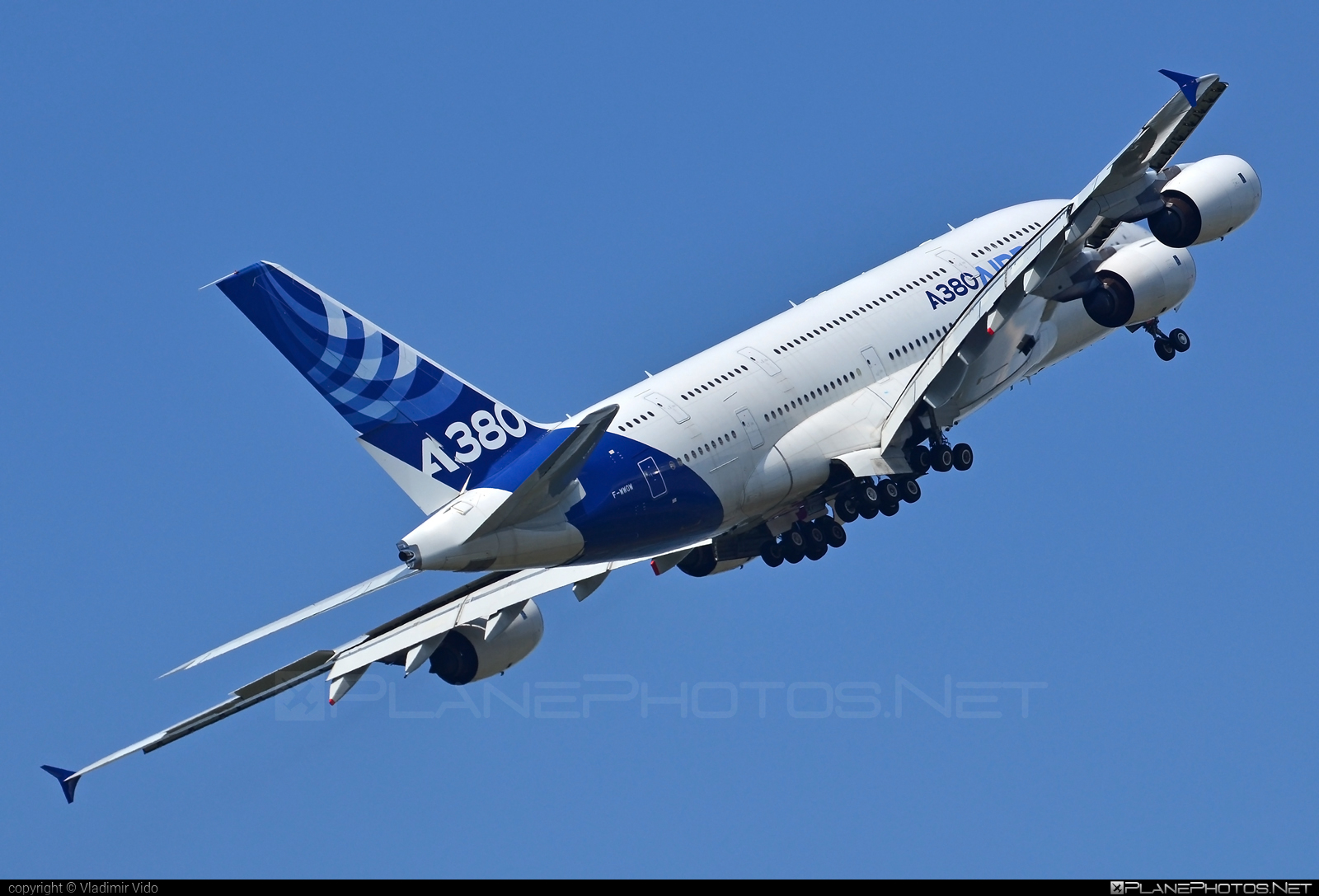Airbus A380-841 - F-WWOW operated by Airbus Industrie #a380 #a380family #airbus #airbus380