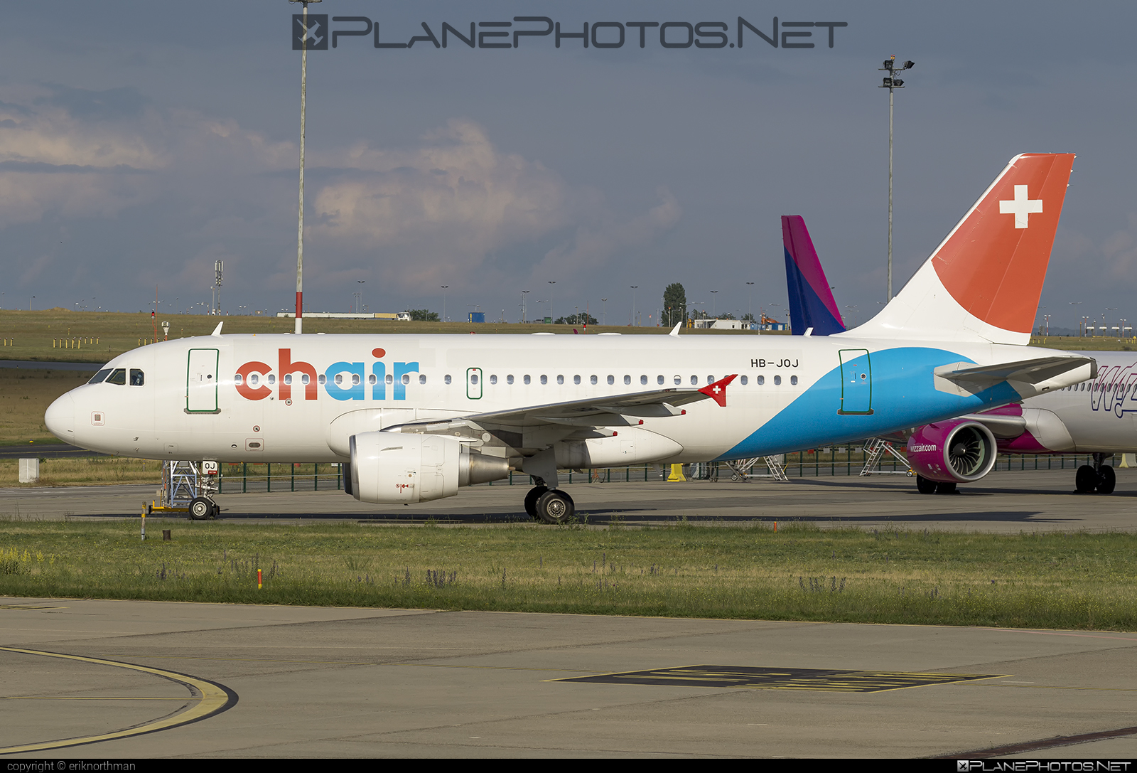 Airbus A319-112 - HB-JOJ operated by Chair Airlines #a319 #a320family #airbus #airbus319 #chairairlines